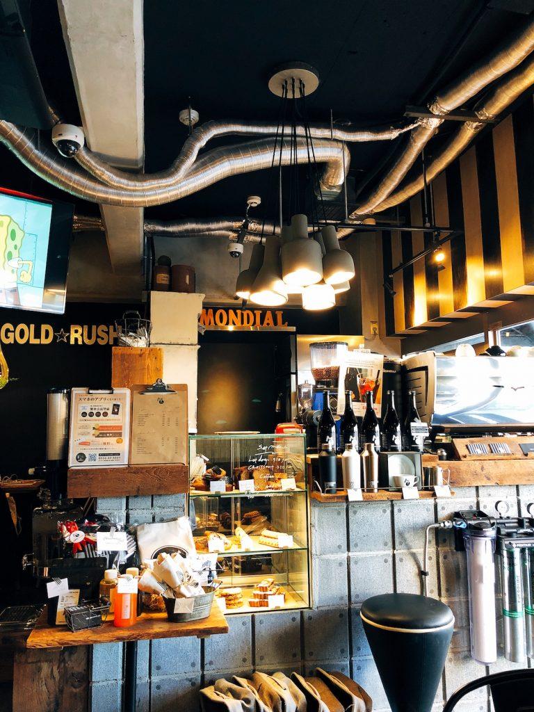 大阪のゆったりカフェ